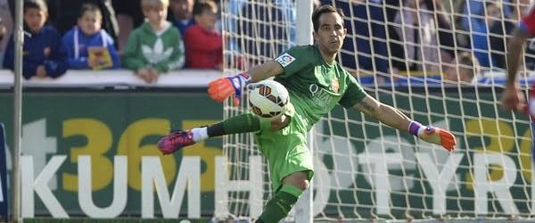 Claudio Bravo é o Chileno com mais jogos na La Liga