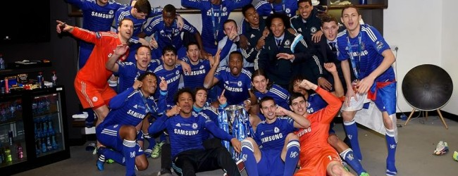 Cech e Courtois vencem Capital One Cup 2014/2015 com o Chelsea
