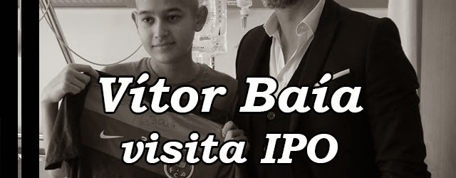 Vítor Baía visitou crianças do IPO