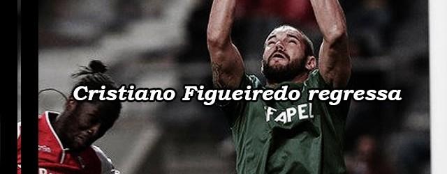 Cristiano Figueiredo volta ao SC Braga no final da época
