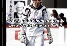 João Botelho homenageado pela CM de Lagoa e pela AF de Ponta Delgada