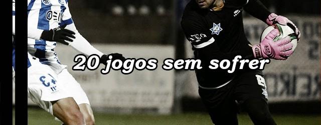 Marco Rocha chega às duas dezenas de jogos sem sofrer no Freamunde