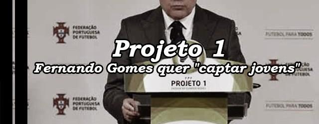 "Projeto 1 – Escola de Guarda-Redes: Presidente da FPF quer ""captar jovens"" para a baliza"