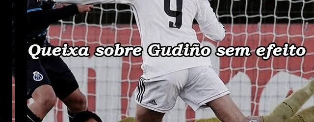 Raúl Gudiño: queixa por utilização irregular sem efeito