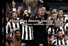 Renan dos Santos e Jefferson campeões da Taça Guanabara pelo Botafogo