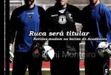 """Ruca é um """"grande profissional e vai singrar"""": Tiago Castro, treinador de guarda-redes do Académico de Viseu"""