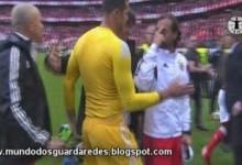Hugo Oliveira tentou separar confusão entre Jorge Jesus e Julen Lopetegui