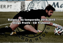 Diogo Freire – CD Trofense – Balanço da temporada 2014/2015