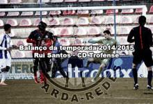 Rui Santos – CD Trofense – Balanço da temporada 2014/2015