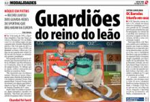 """André Girão e António Chambel juntos, em """"Guardiões do reino do leão"""" – Record"""