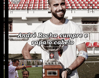 André Rocha sagrou-se campeão pelo CF Benfica e cumpriu promessa