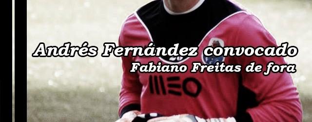 Andrés Fernández convocado – Fabiano Freitas de fora para o Vitória FC – FC Porto