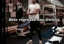 Beto de regresso aos treinos do Sevilla
