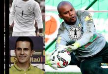 Diego Alves, Jefferson e Marcelo Grohe convocados pelo Brasil para a Copa América