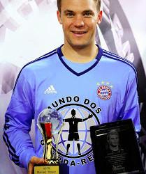 Manuel Neuer vence prémio de Desportista do Ano para UEPS e AIPS