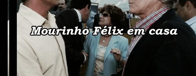 Mourinho Félix regressou a casa após operação