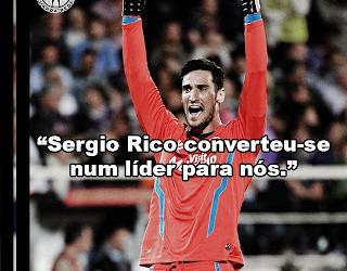 """Sergio Rico """"converteu-se num líder"""" para o Sevilla"""