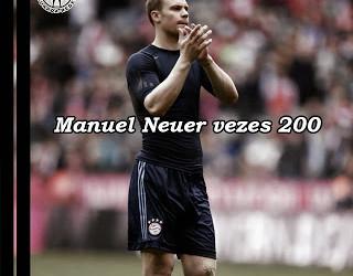 Neuer chega aos 200 jogos no Bayern, o primeiro como suplente no FCB 0-1 Augsburg