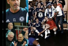 Cech, Courtois, Silvino Louro e Christophe Lollichon vencem a Premier League com o Chelsea