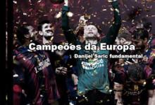 Danijel Saric e Gonzalo Pérez de Vargas vencem Champions League de Andebol com o Barcelona