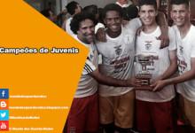 Fábio Duarte, João Virgínia, Daniel Azevedo, Matthew Nogueira, Bernardo Gonçalves e Ricardo Pereira campeões de Juvenis pelo Benfica