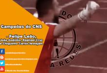Filipe Leão, João Godinho, Raphael Cruz e Chiquinho Carlos campeões do CNS 2014/2015 pelo CD Mafra