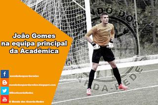 João Gomes promovido à equipa principal da Académica
