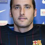 aitor egurrola barcelona - foto de perfil 2009-2010 - imagem futbol club barcelona