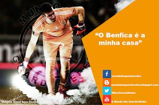 """Artur Moraes: """"o Benfica é a minha casa"""""""