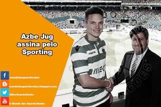 Azbe Jug assina pelo Sporting