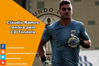 Cláudio Ramos renova pelo CD Tondela