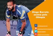 Diego Barreto assina pelo Olimpia