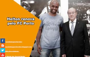 Helton renova pelo FC Porto