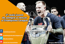 Ter Stegen torna-se o segundo guarda-redes mais jovem a vencer a Champions League