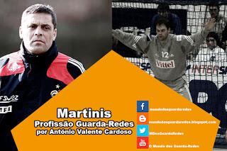 Martinis – Profissão Guarda-Redes por António Valente Cardoso