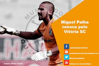 Miguel Palha renova pelo Vitória SC