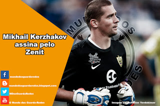 Mikhail Kerzhakov assina pelo Zenit