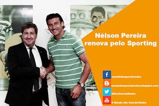 Nélson Pereira renova pelo Sporting