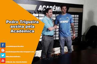 Pedro Trigueira assina pela Académica