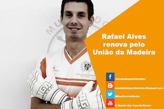Rafael Alves renova pelo União da Madeira