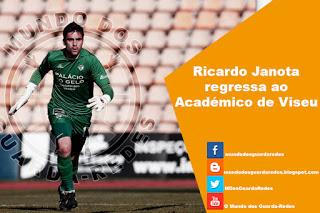 Ricardo Janota assina pelo Académico de Viseu