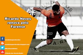 Ricardo Neves renova pelo Farense