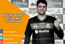 Rodrigo Galatto assina pelo Juventude