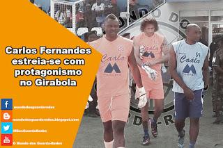 Carlos Fernandes em destaque na estreia pelo Recreativo da Caàla