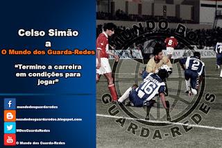 """Celso Simão encerra a carreira com um novo desafio, mas sente-se """"ainda em condições para jogar"""""""