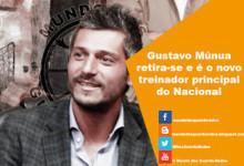 Gustavo Múnua retira-se e é o novo treinador principal do Nacional