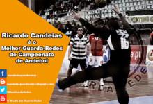 Ricardo Candeias vence prémio para Melhor Guarda-Redes do Campeonato de Andebol