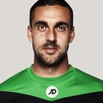 adam federici bournemouth - foto de perfil 2015-2016 - imagem association bournemouth football club