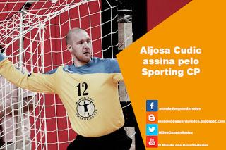 Aljosa Cudic assina pelo Sporting CP
