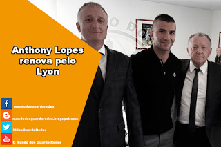 Anthony Lopes renova pelo Lyon